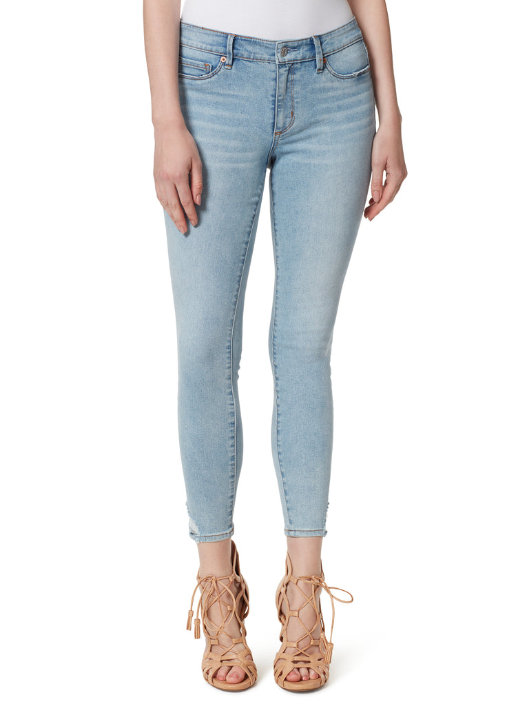 Kiss Me Ankle Skinny Jeans in Best Intentions