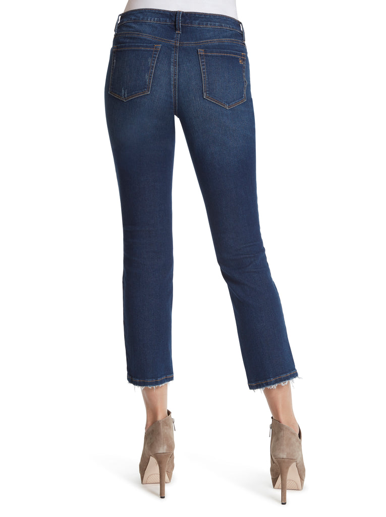 Arrow Straight Ankle Jeans in Emmett