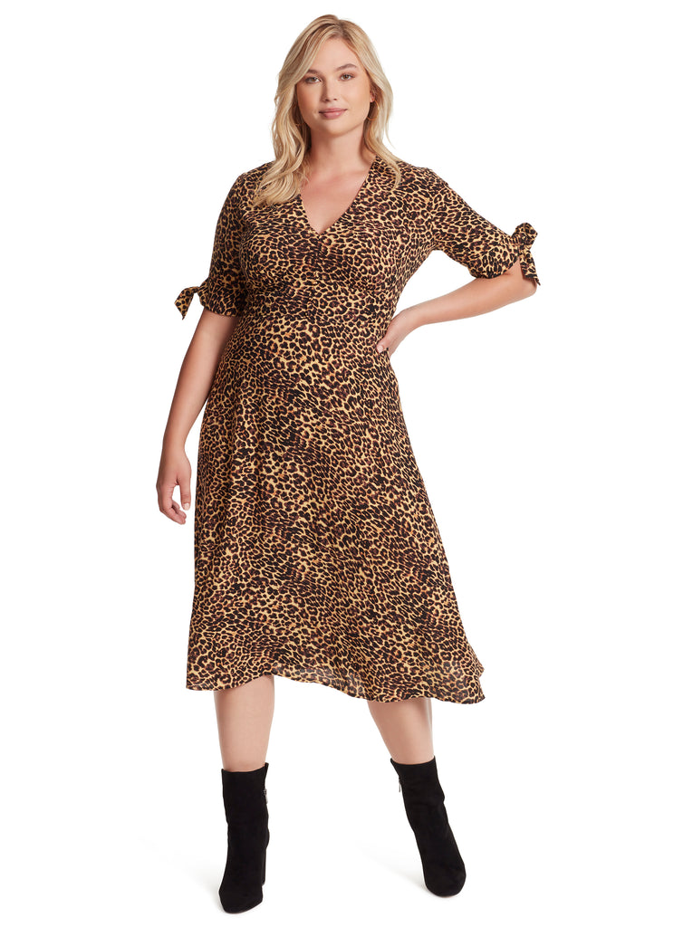 Cecilia Dress in Leopard