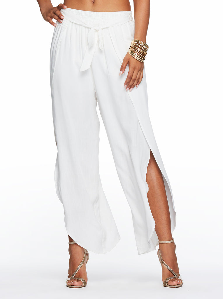 Beach Pant in Off White