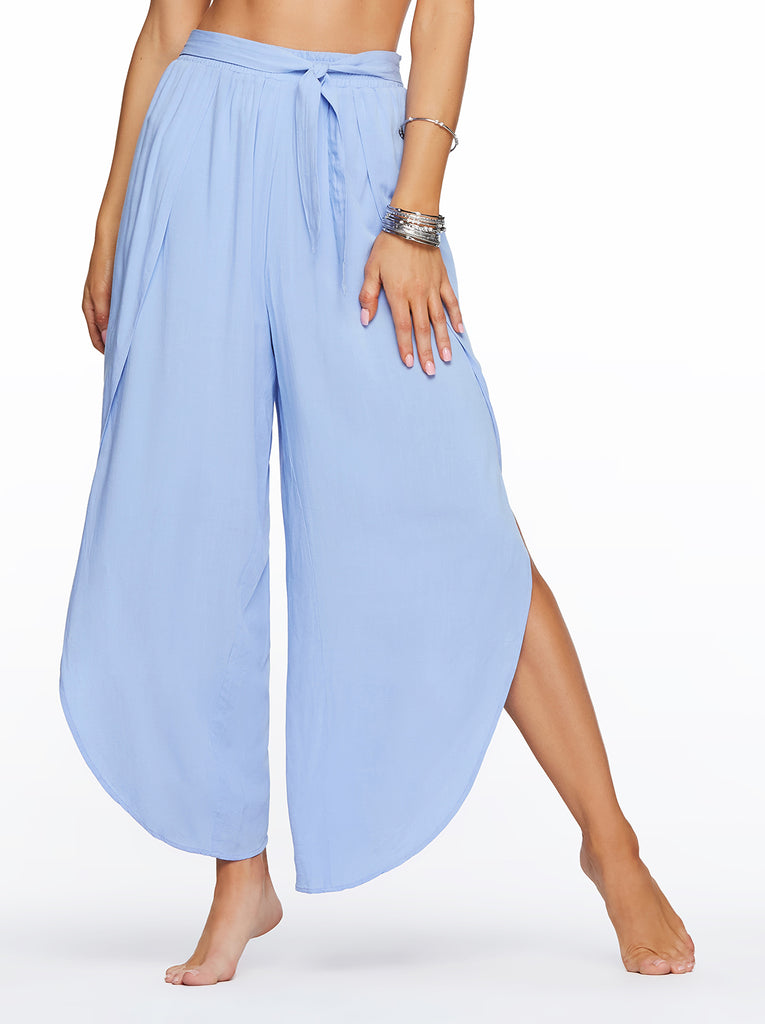 Beach Pant in Blue Mist