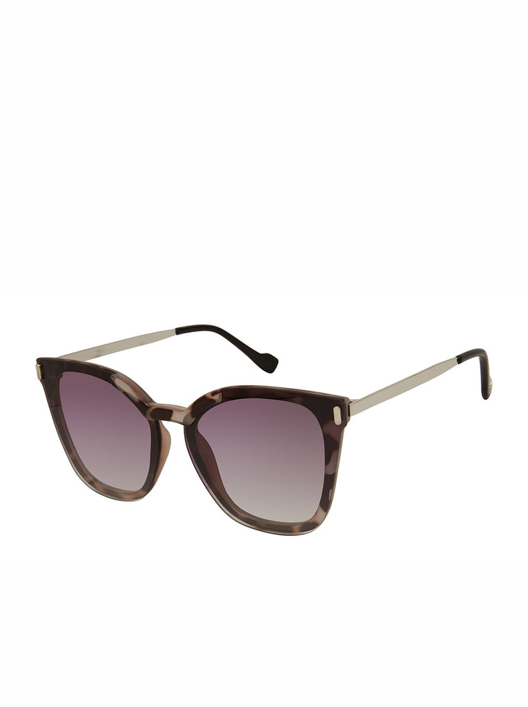 Retro Cat-Eye Sunglasses in Animal