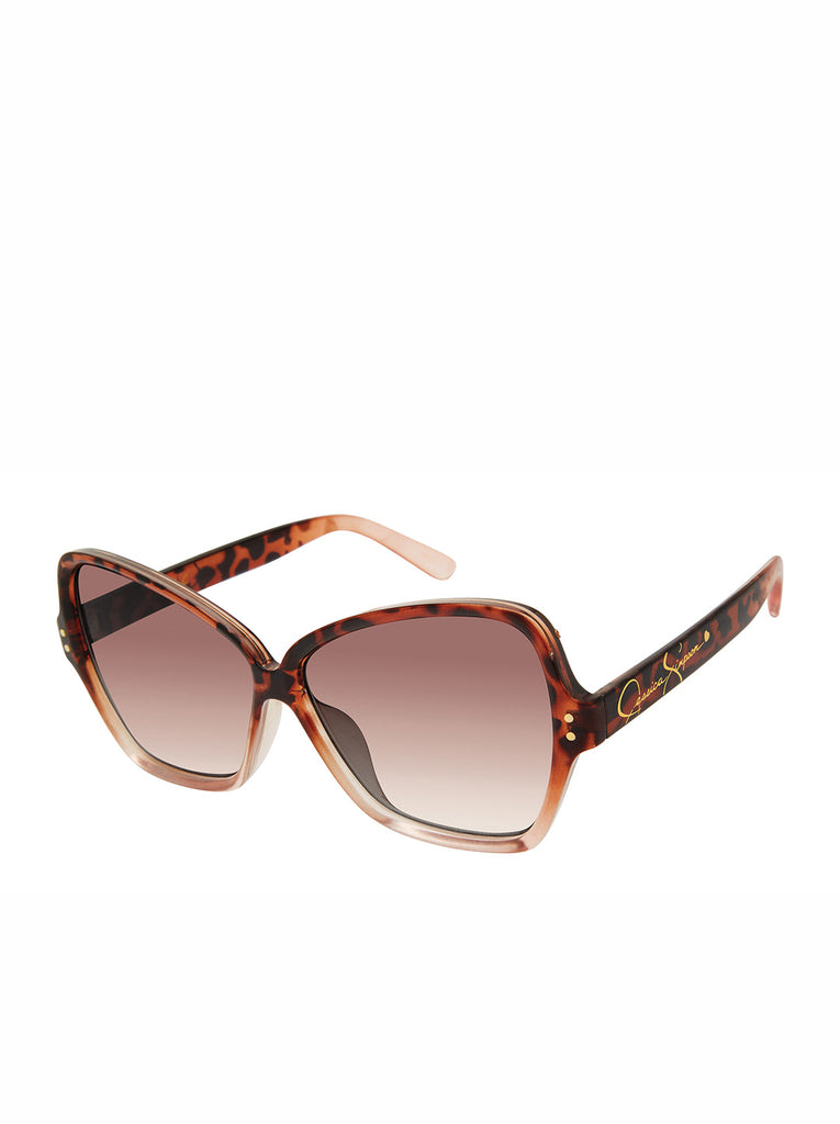 Stylish Butterfly Sunglasses in Rose Tortoise