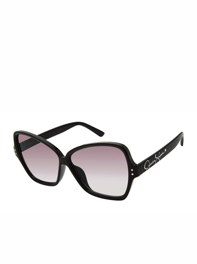 Stylish Butterfly Sunglasses in Black