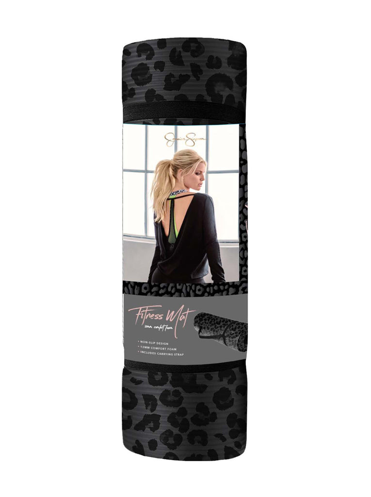 Yoga Mat - 12mm - in Leopard Print