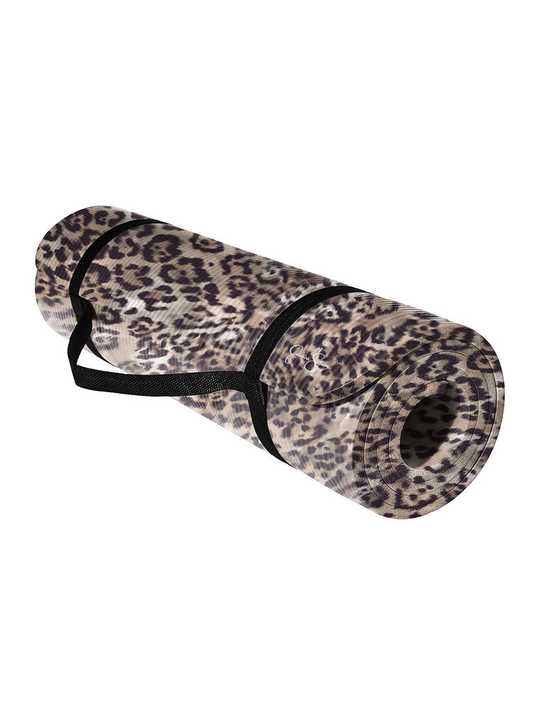 Yoga Mat - 12mm - in Cheetah Print