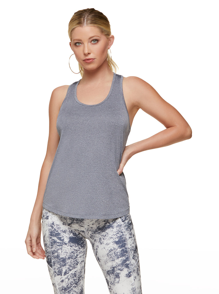 Excel Active Tank in Heather Ombre Blue