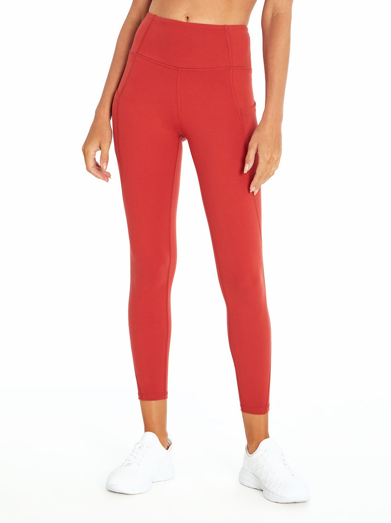 Tummy Control Ankle Legging in Bossa Nova