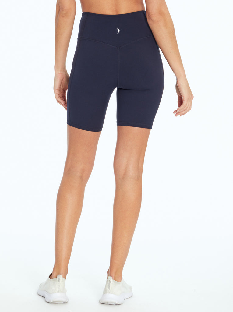 Tummy Control Bermuda in Midnight Blue