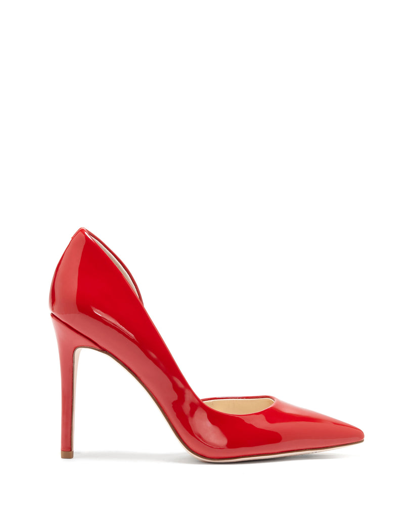Pheona D'Orsay Pump in Red Patent