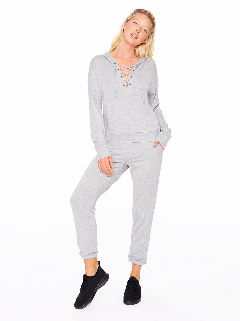 Felicity Jogger in Heather Grey
