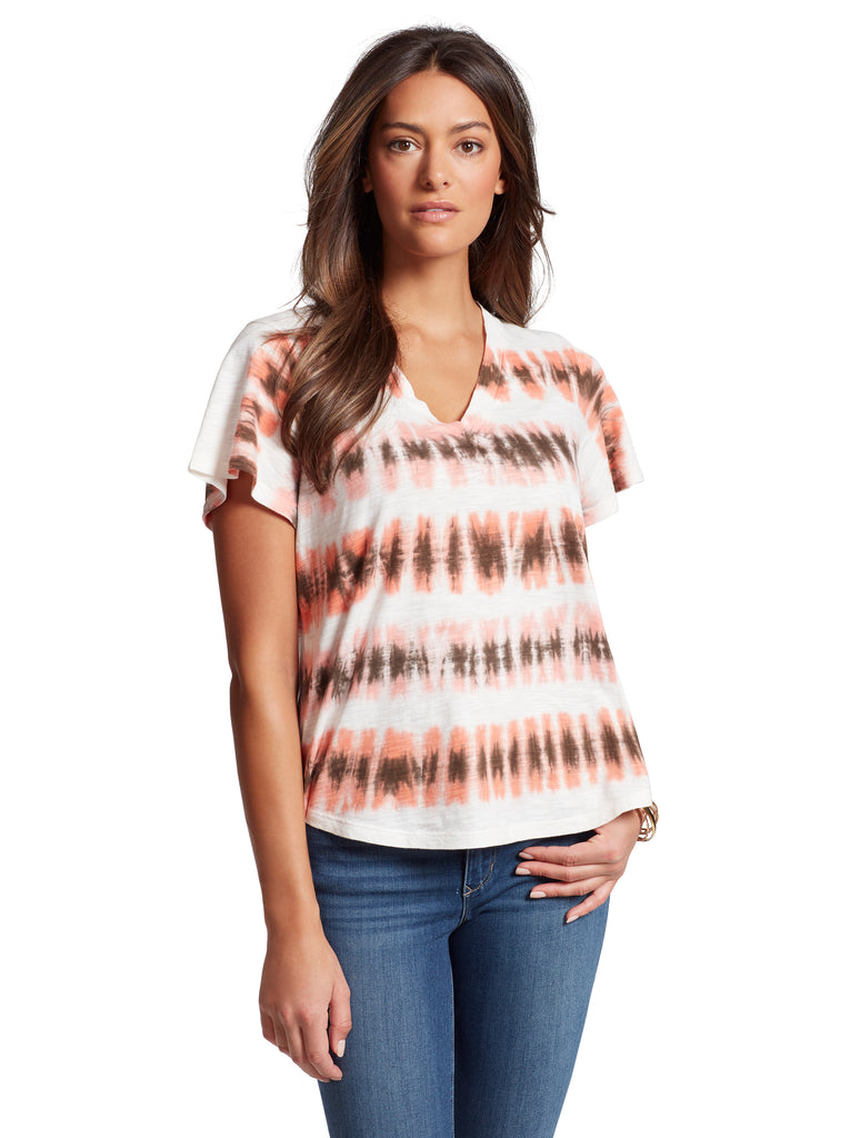 Carly Tee in Kalamata Tie Dye