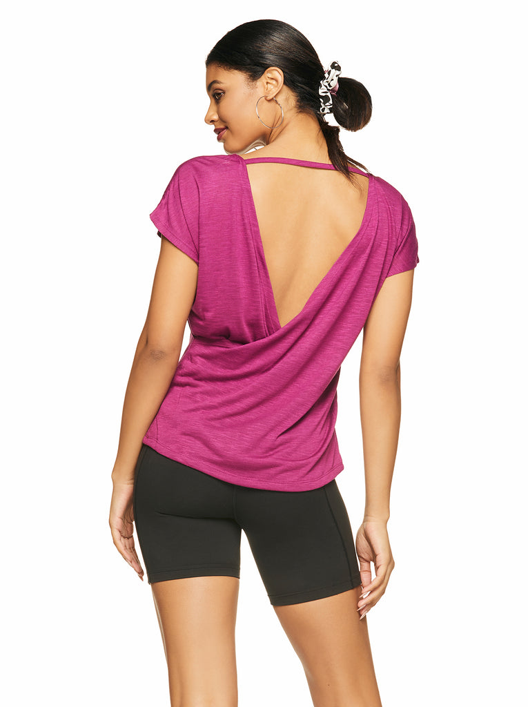 Joy Top in Magenta Lust