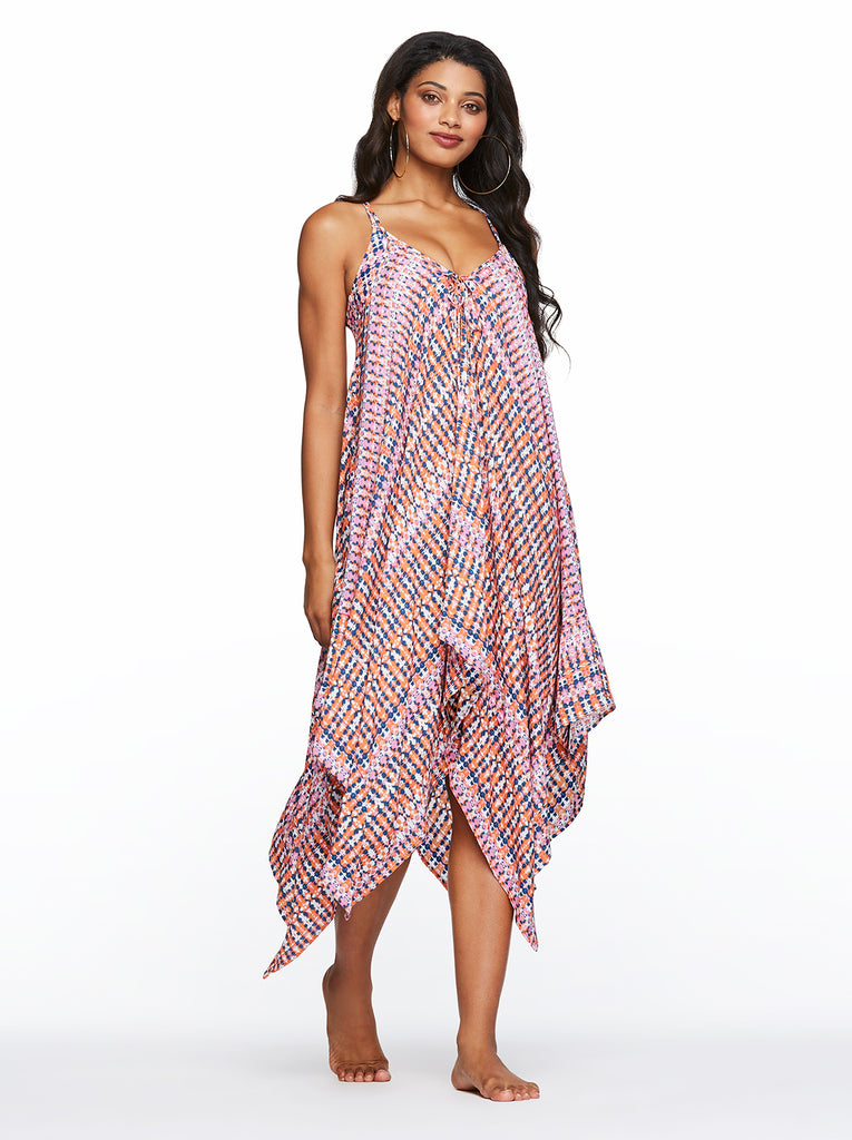 Laguna Beach Cover up in Fuschia