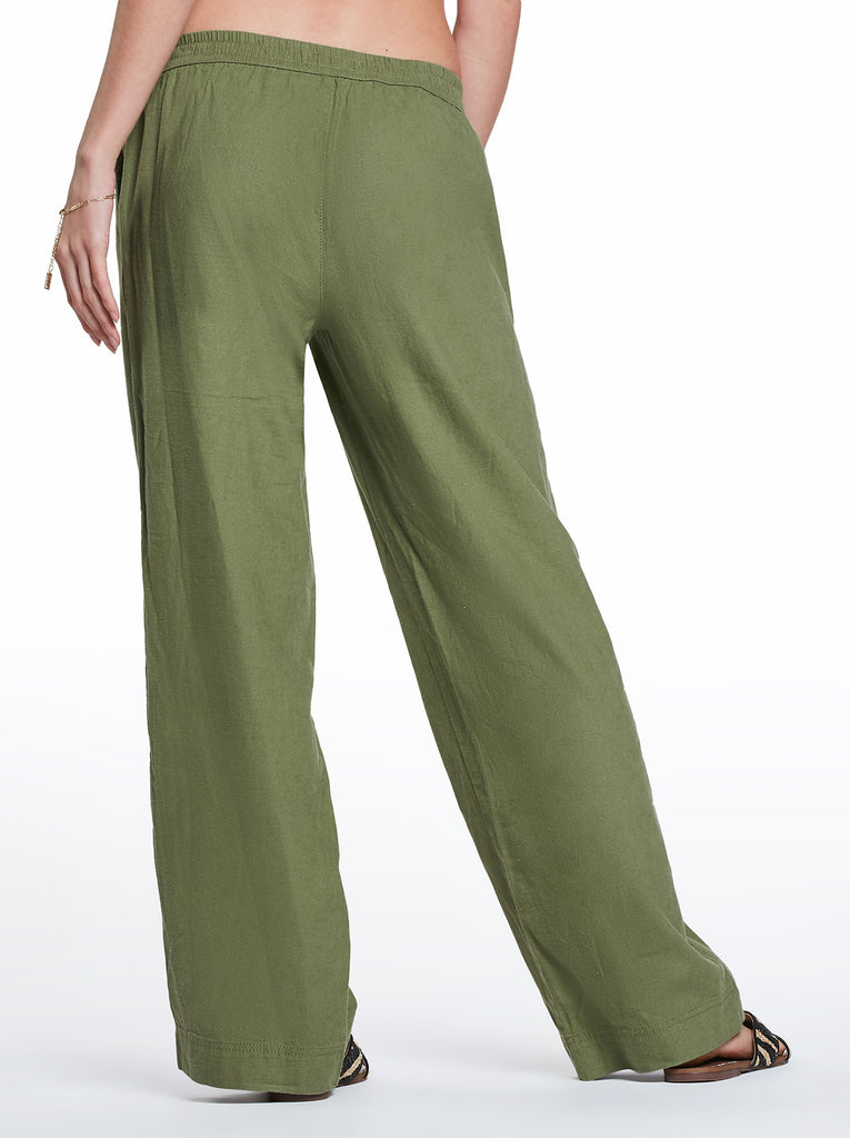 Nara Beach Pant in Green