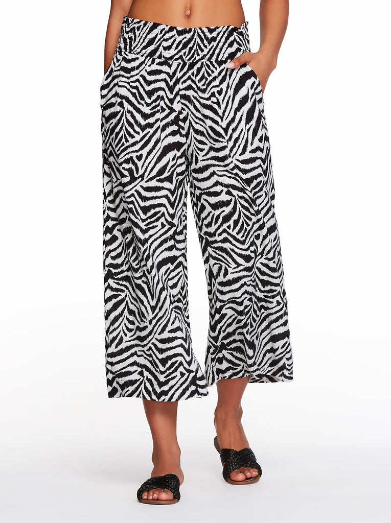 Senna Pant in Etched Zebra