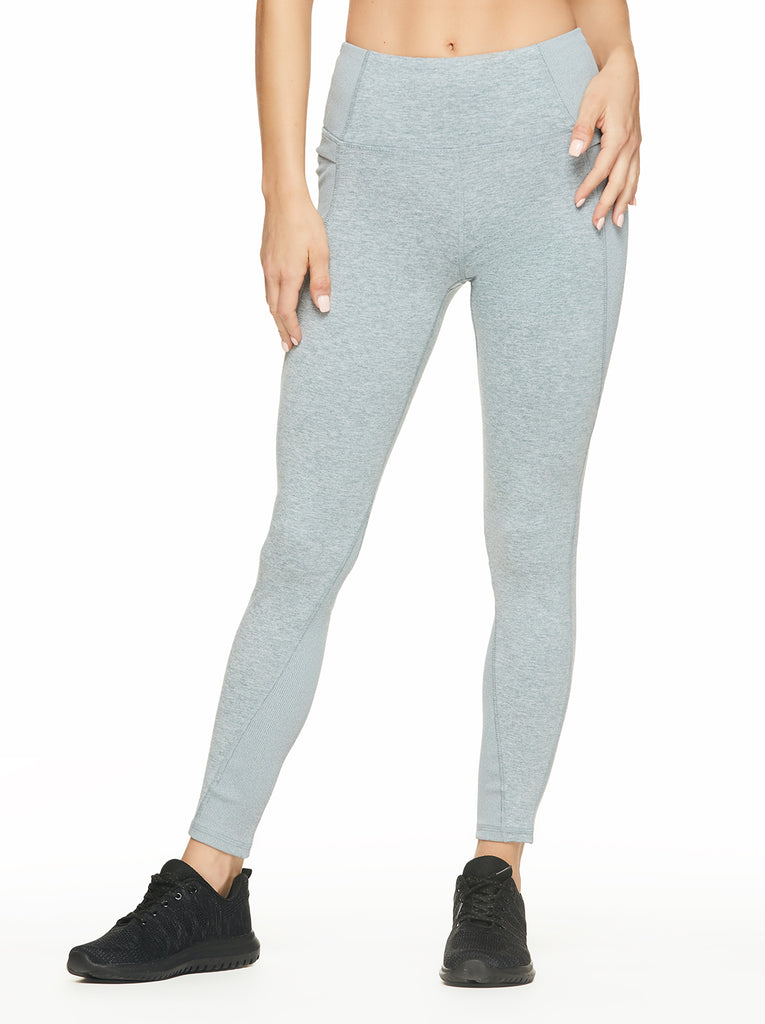 Stealth Legging in Heather Goblin