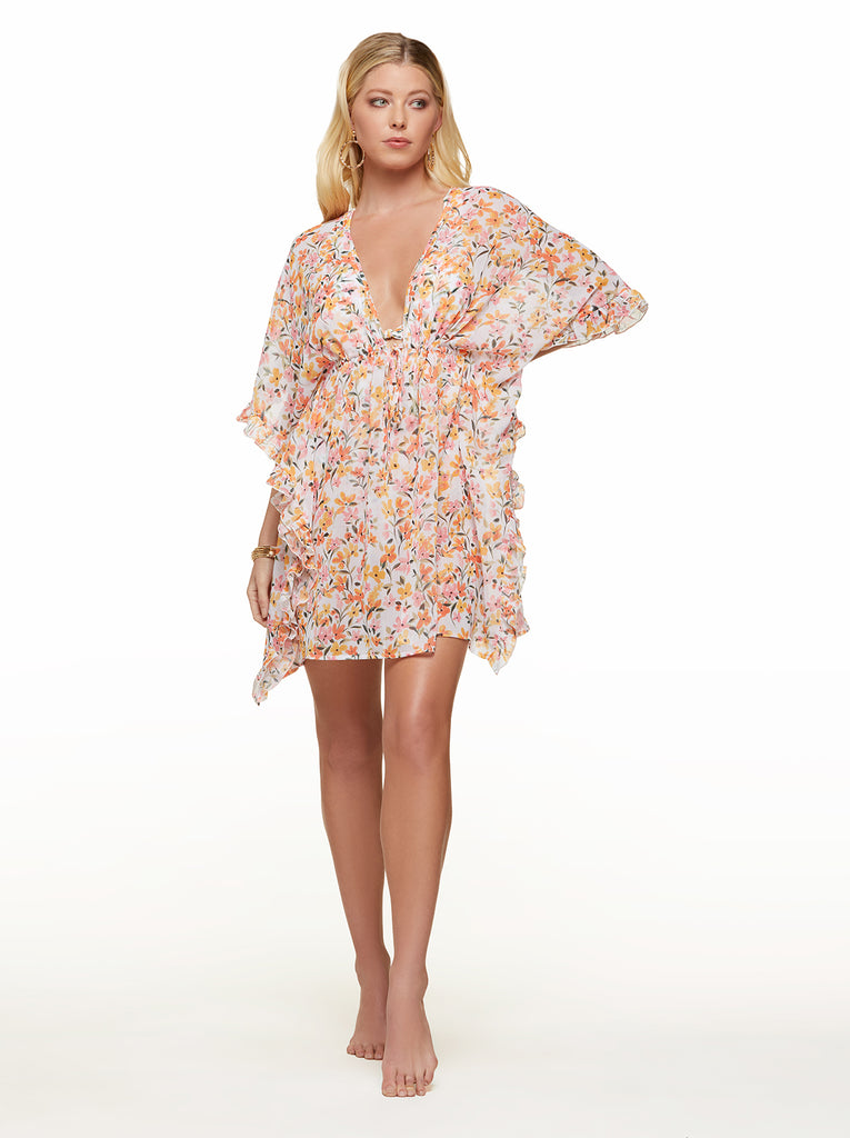 Summer Dreaming Cover Up in Sunset