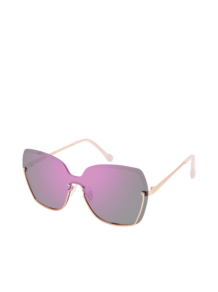 Semi-Rimless in Rosegold & Rose