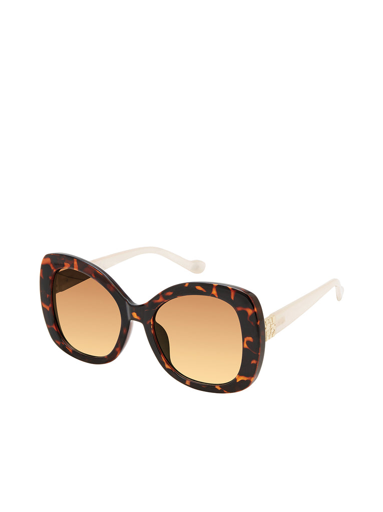 Oversized Cat-Eye in Tortoise & Cream
