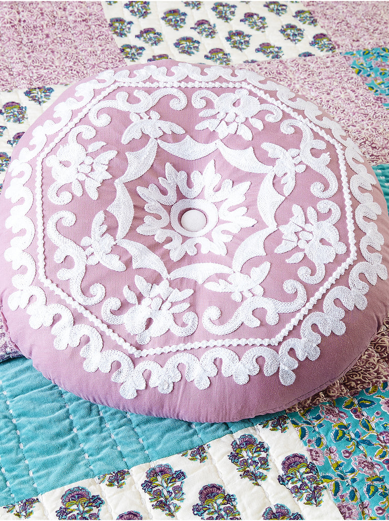 "Numbra Twill Ruffle Decorative 16"" Pillow"