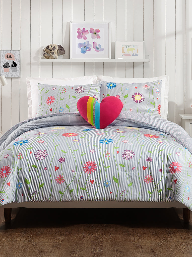 Growing Garden Kids Comforter Set