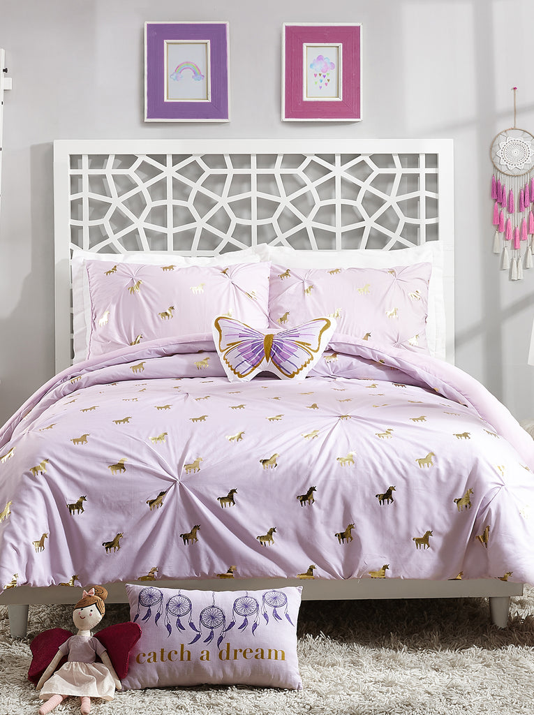 Fiona Unicorn Kids Comforter Set