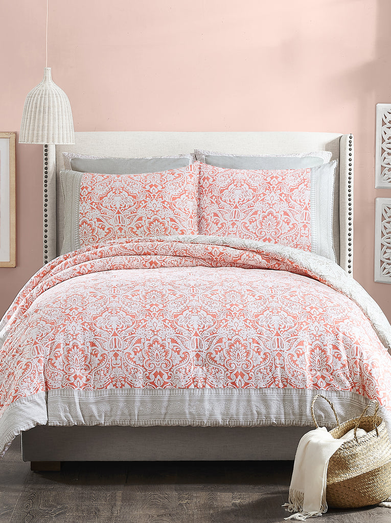 Coral Gables Reversible Comforter Set