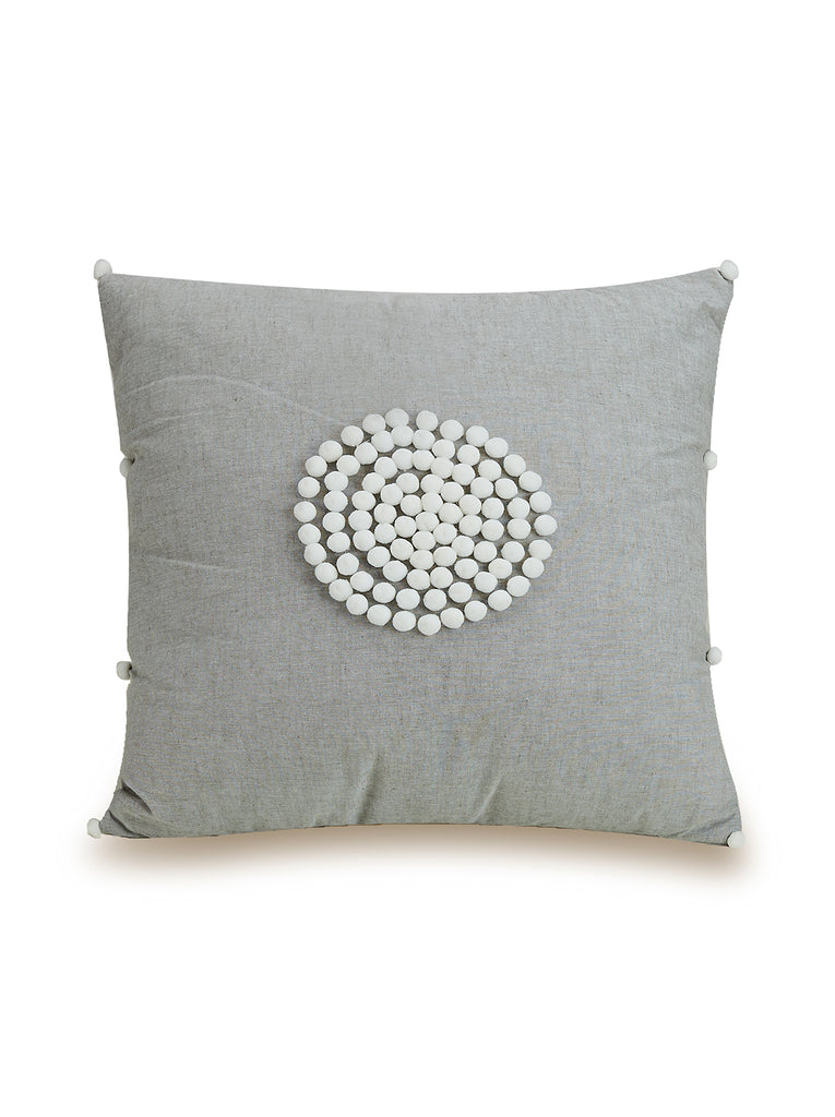 Coral Gables Decorative Beaded Pillow