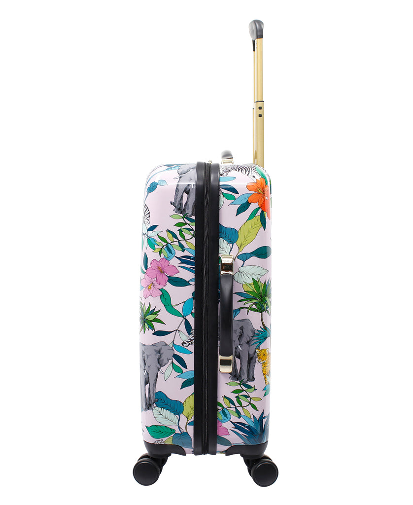 Jungle Story Luggage Collection in Pink
