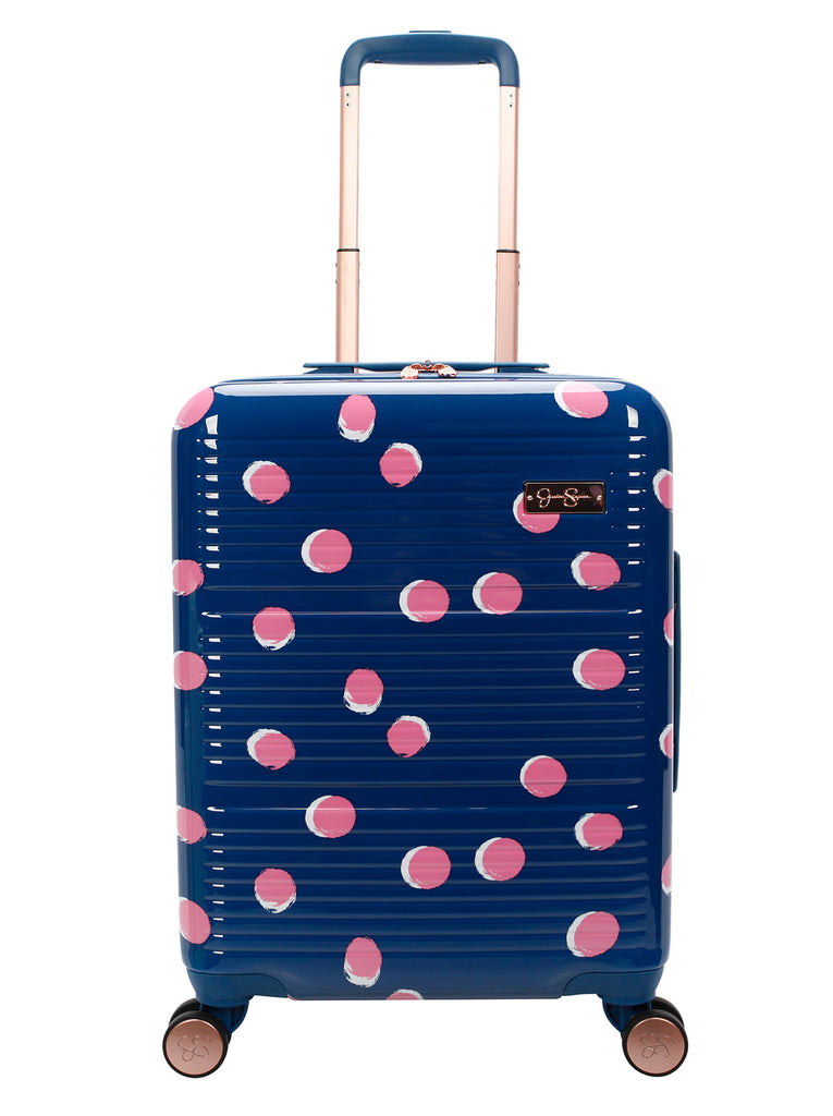 French Dot Carry-On in Navy