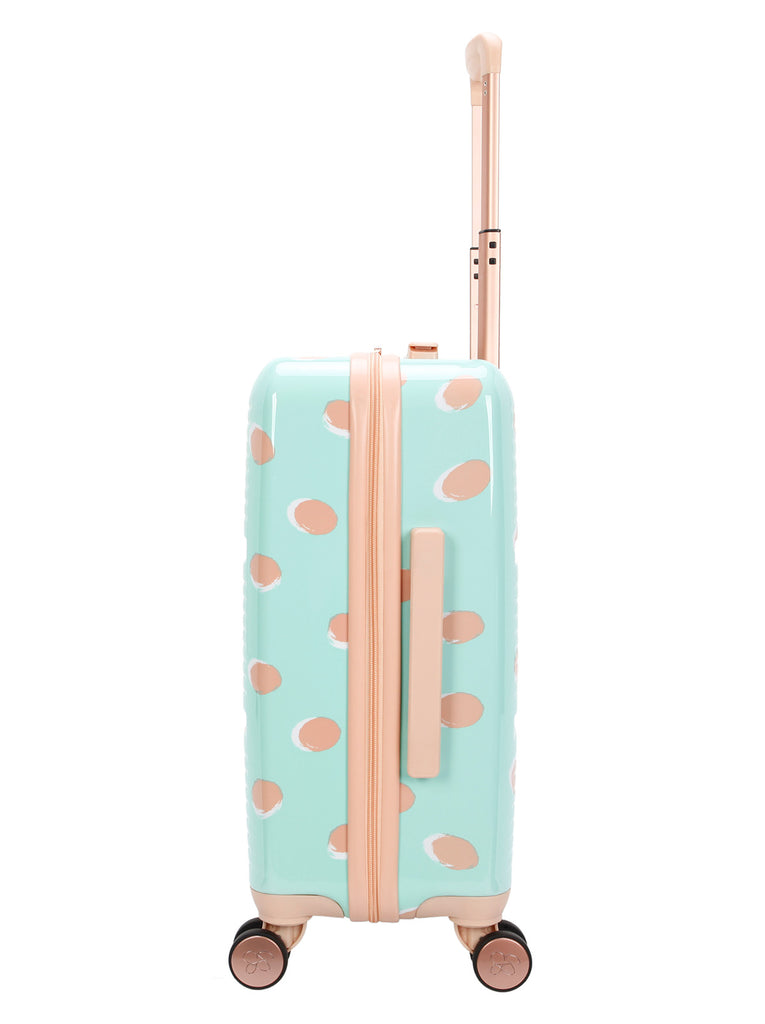 French Dot Carry-On in Mint