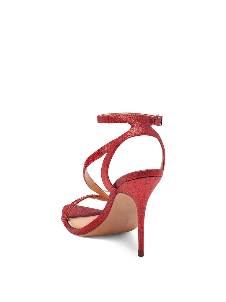 Whitley High Heel in Wicked Red
