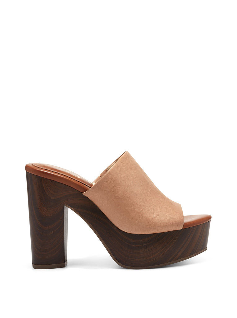 Shelbie Platform Slide in Natural