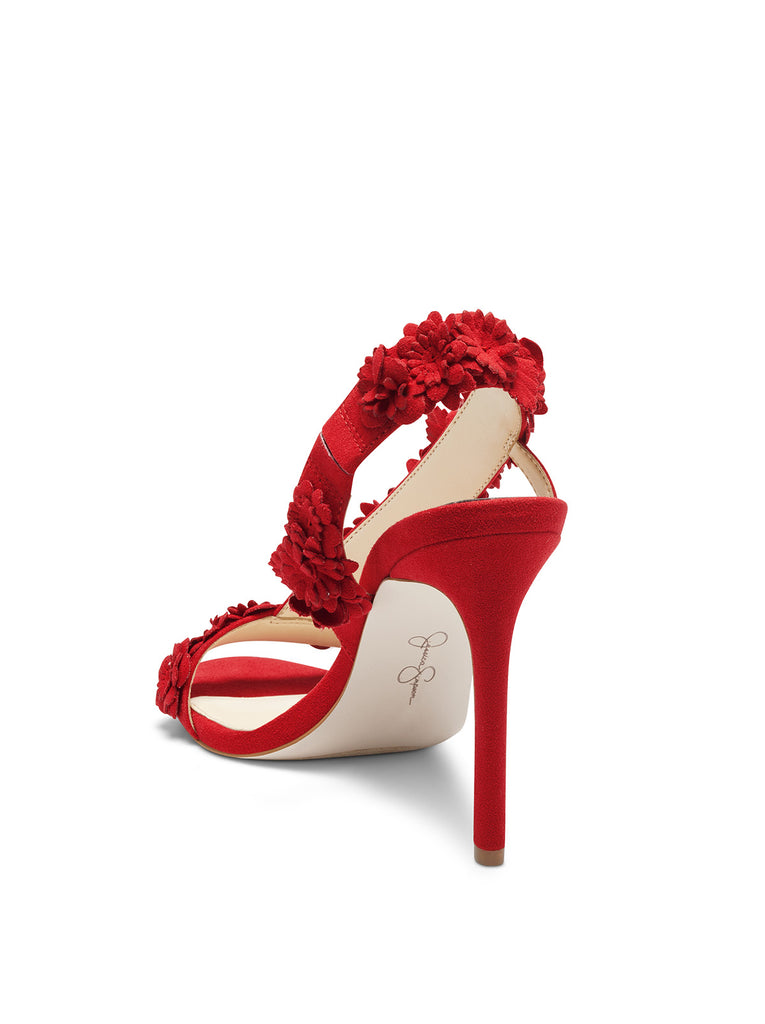 Jessin High Heel in Red