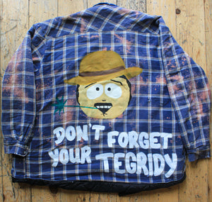 Tegridy Farms Quilted Flannel Jacket - Extra Large