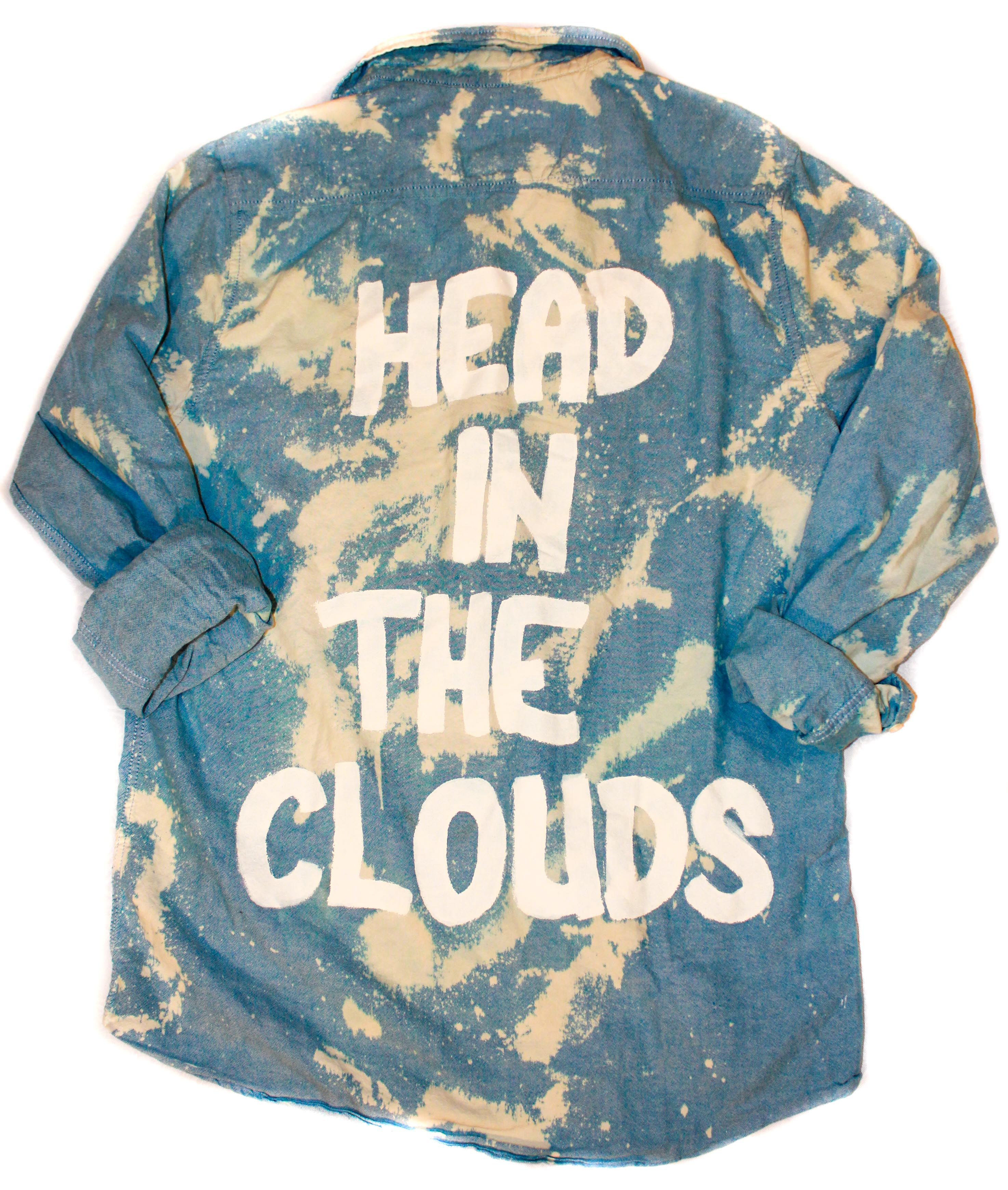 Head Up In the Clouds - Large