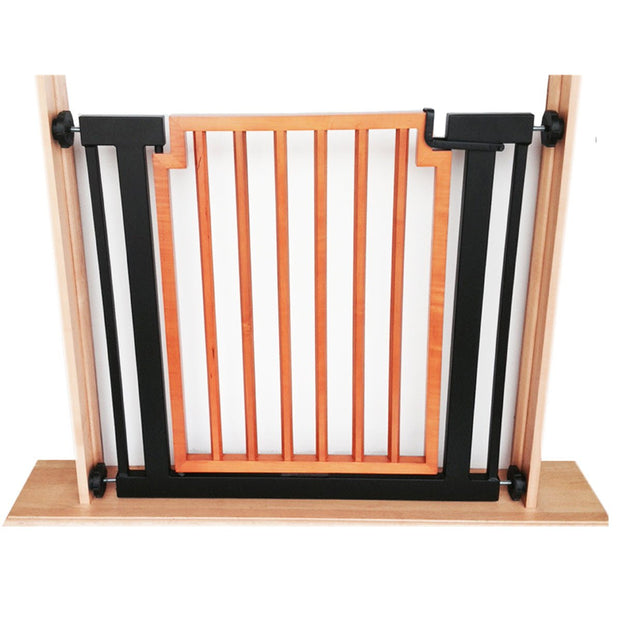 Pets Stop Austin Mod Dog Gate Black Door Hallway