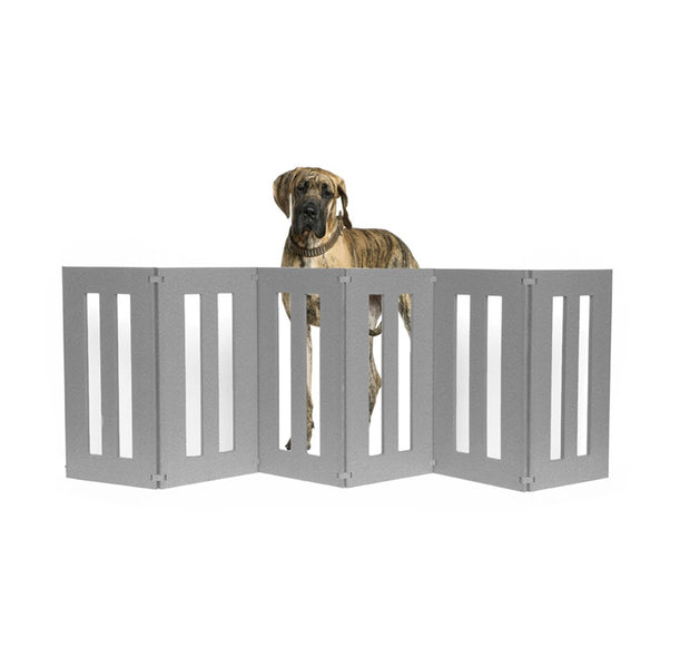 Pets Stop  Backyard Dog Outdoor Dog Gate Barrier With Great Dane- Outdoor Dog Gate, Freestanding, All-Weather, Heavy-Duty