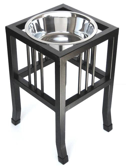 "Pets Stop Baron - XL 18""dog diner elevated dog food bowl stand"