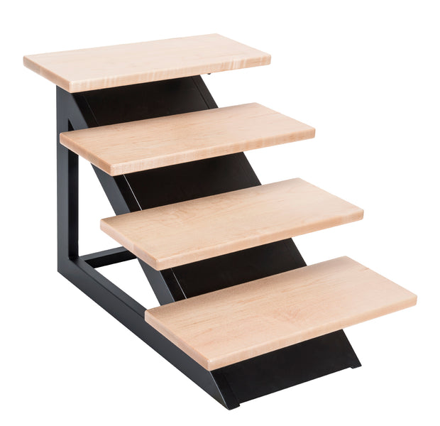 Loft Pet Steps - Modern Steps for Pets - Non Slip Wood and Metal Steps for Small and Elderly Dogs