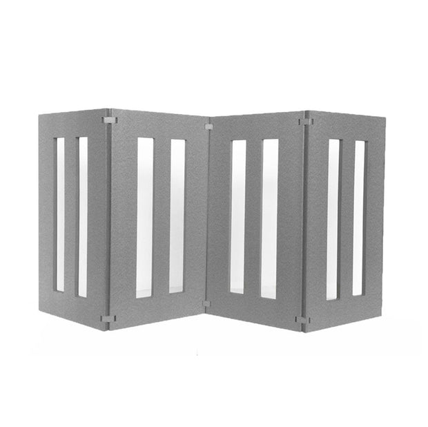 PEts Stop Backyard Dog Outdoor Dog Gate Barrier - Outdoor Dog Gate, Freestanding, All-Weather, Heavy-Duty