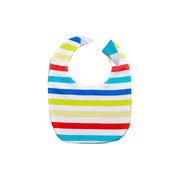 FS-126 Baby Boy 7-Piece Sleeping Set - Rainbow Stripe Print - Featherhead Baby