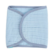 FS-19 Muslin Blue Burp Cloth - Featherhead Baby