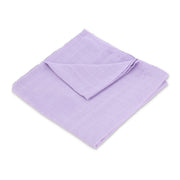 "Muslin Swaddle Blanket 44"" x 44"" - Purple Solid - Featherhead Baby"