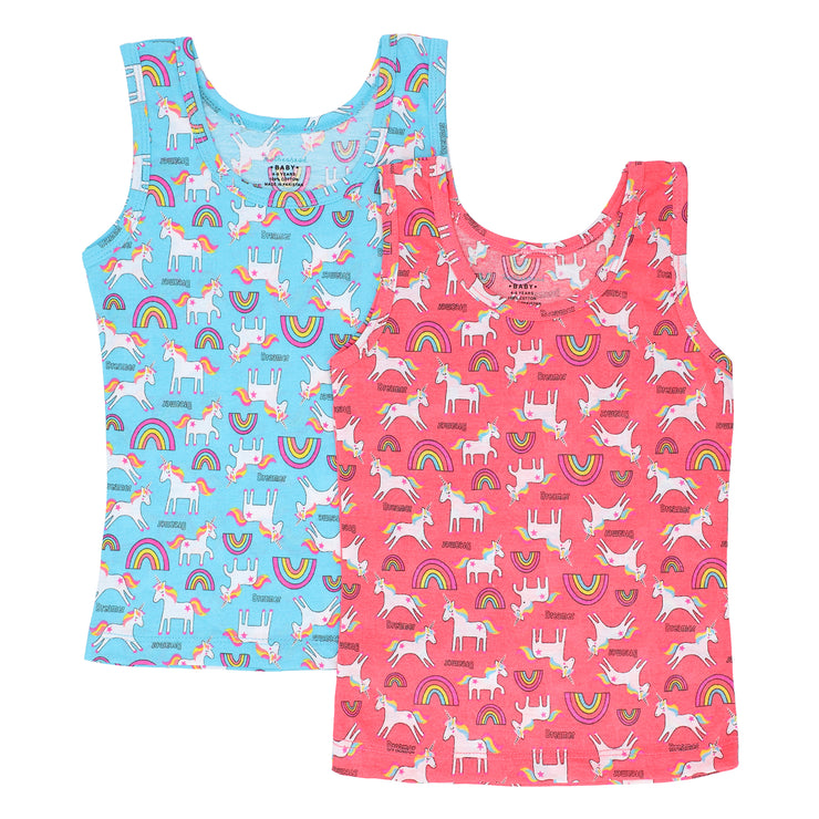 FS-13 Girls Undershirts Tank Top 2PK - Featherhead Baby