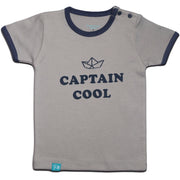 FB-3004 Baby Boy T-Shirt - Captain Cool Sailboat - Featherhead Baby