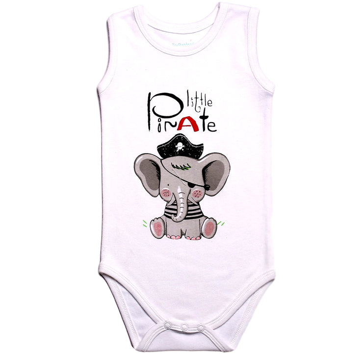 FS-67 Little Pirate 2-Pack Tant Top Bodysuits - Featherhead Baby