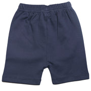 FS-25 Grey Alloy Polo & Navy Shorts - Featherhead Baby
