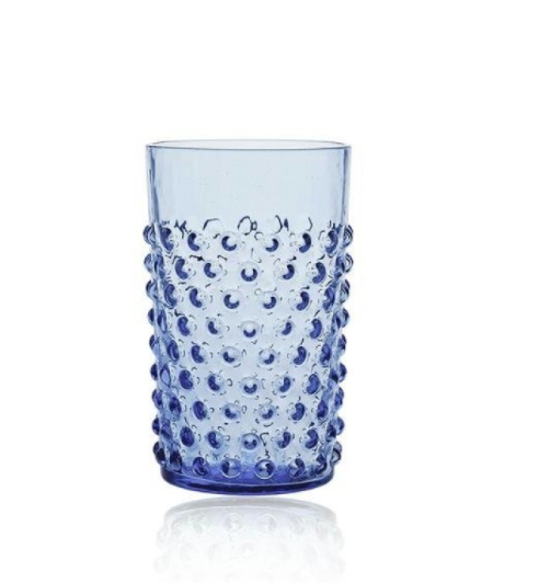 Anna Von Lipa Pindsvineglas 250 ml. - Light blue